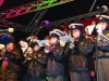 Some of the members of Monaghan Community Brass Band, on stage at the Monaghan Town Christmas Lights Switch-On. ©Rory Geary/The Northern Standard