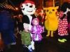 Jessica and Madison White with Marshall of Paw Patrol at the Monaghan Town Christmas Lights Switch-On. ©Rory Geary/The Northern Standard
