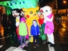 Lauren and Nevin McKenna with some of the characters that attended the Monaghan Town Christmas Lights Switch-On last Sunday. ©Rory Geary/The Northern Standard