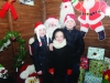 Pictured with Santa were Lauren, Grainne and Luke McDonnell. ©Rory Geary/The Northern Standard