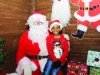 Santa with Jayden at the Monaghan Town Christmas Lights Switch-On event, last Sunday. ©Rory Geary/The Northern Standard