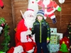 Santa with Kevin McKenna at the Monaghan Town Christmas Lights Switch-On event. ©Rory Geary/The Northern Standard