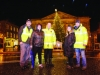 Some of the group that helped organise the Monaghan Town Christmas Lights Switch-On event were (L-R) Charlie Cawley, Colette Smyth, Paul McGeown, Annette Lappin and Robbie Healy. ©Rory Geary/The Northern Standard