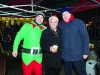 Monaghan Rotary Club members, Michael Liddle, Pat Deery, President and John Bole, at the Monaghan Town Christmas Lights Switch-On. ©Rory Geary/The Northern Standard