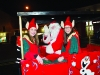 Santa with two elves at the Monaghan Town Christmas Lights Switch-On. ©Rory Geary/The Northern Standard