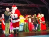 Santa speaking with Sean McCaffrey at the Monaghan Town Christmas Lights Switch-On. ©Rory Geary/The Northern Standard