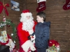 A young boy speaking with Santa at the Monaghan Town Christmas Lights Switch-On. ©Rory Geary/The Northern Standard