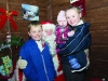 Santa with some of the children that met him at the Monaghan Town Christmas Lights Switch-On. ©Rory Geary/The Northern Standard