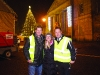 At the Monaghan Town Christmas Lights Switch-On were (L-R) Robbie Healy, Annette Lappin and Paul McGeown. ©Rory Geary/The Northern Standard